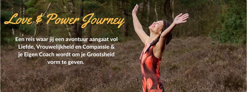 Love & Power Journey met tekst